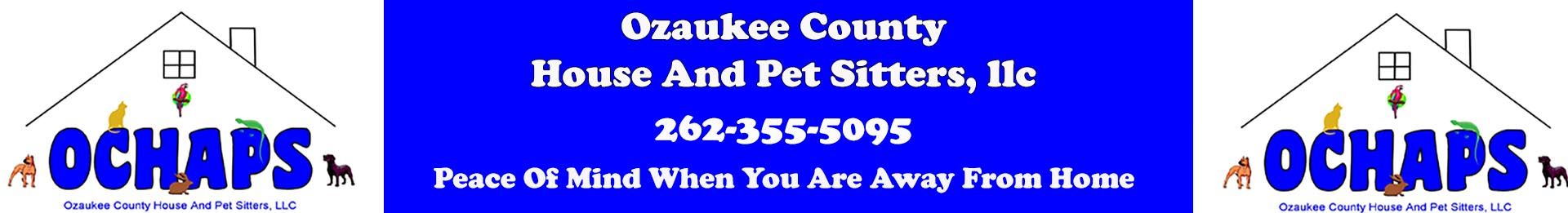 Ozaukee County House and Pet Sitters